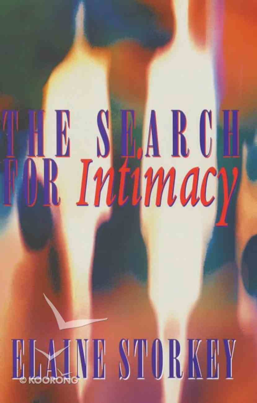 The Search For Intimacy Paperback