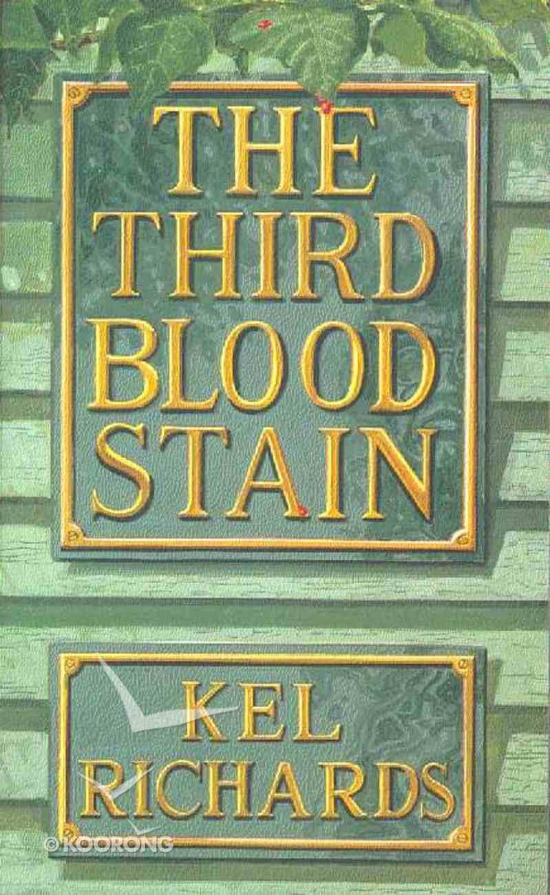 Third Blood Stain Paperback