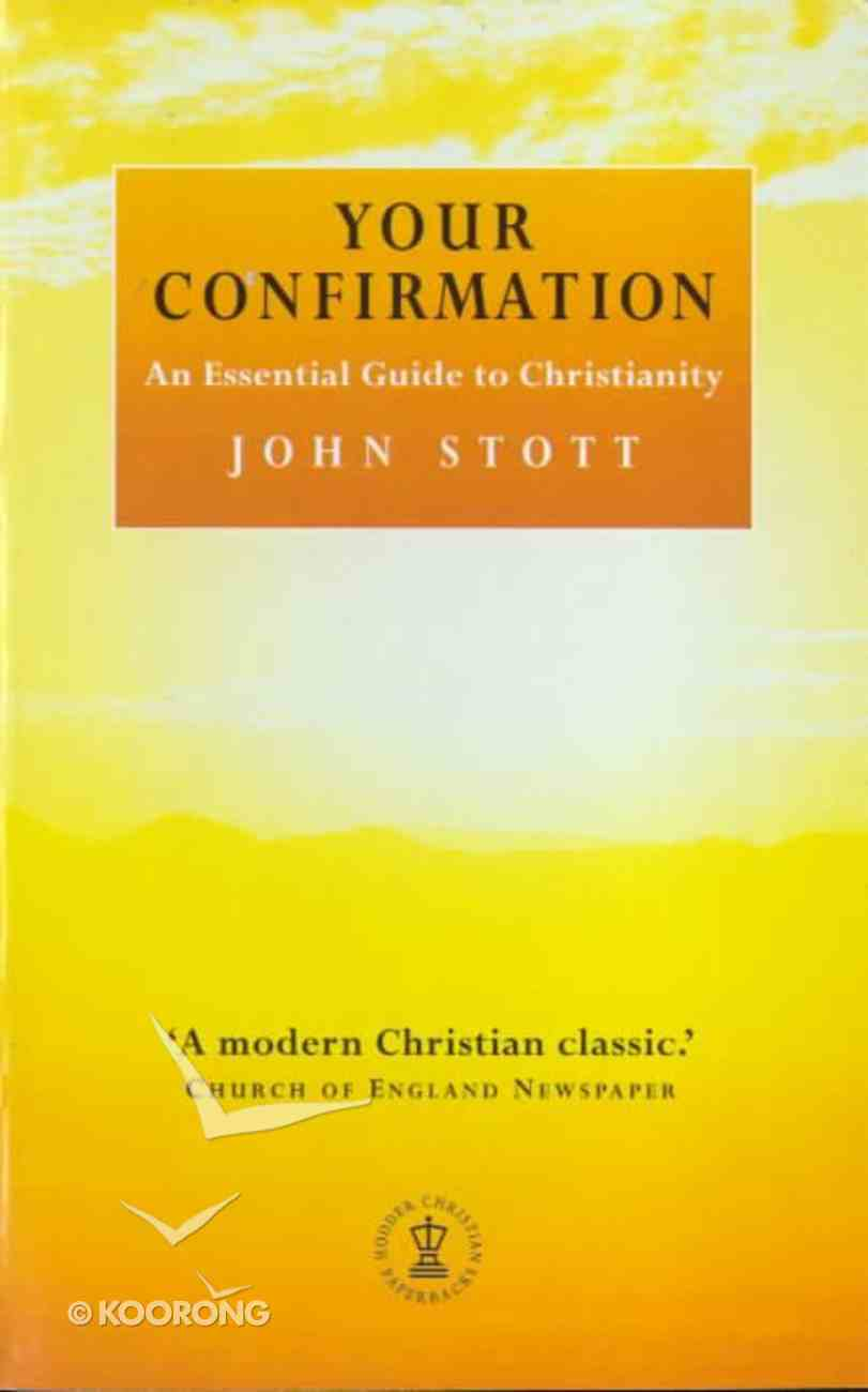 Your Confirmation (New Ed) Paperback