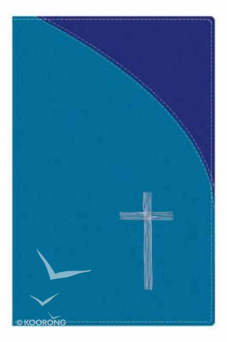 TNIV Popular With Bible Guide Soft-Tone Blue Hardback