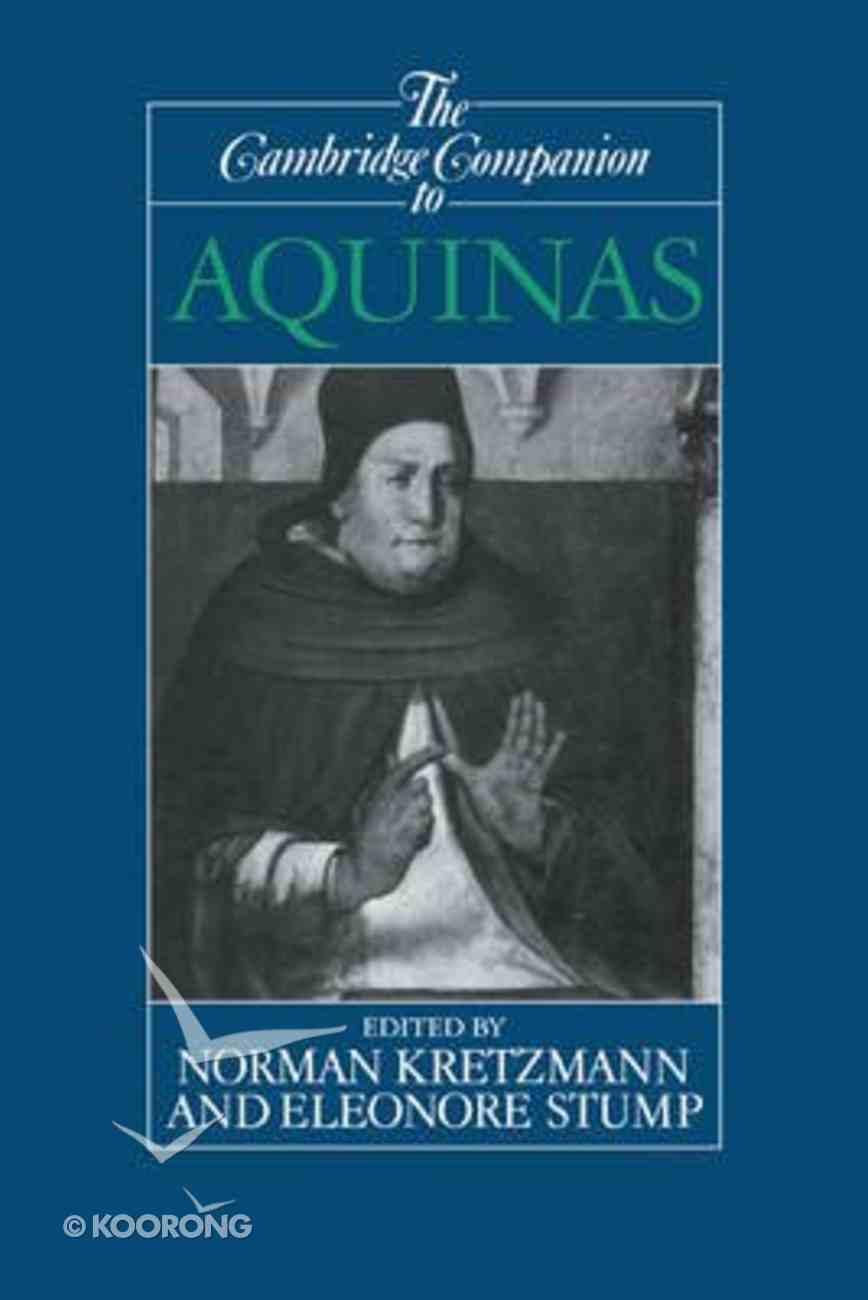 Cambridge Companion to Aquinas ,The Paperback