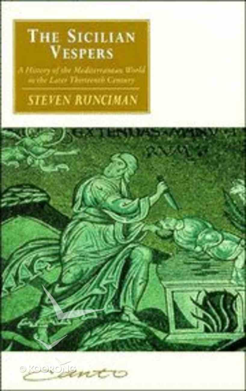 The Sicilian Vespers Paperback