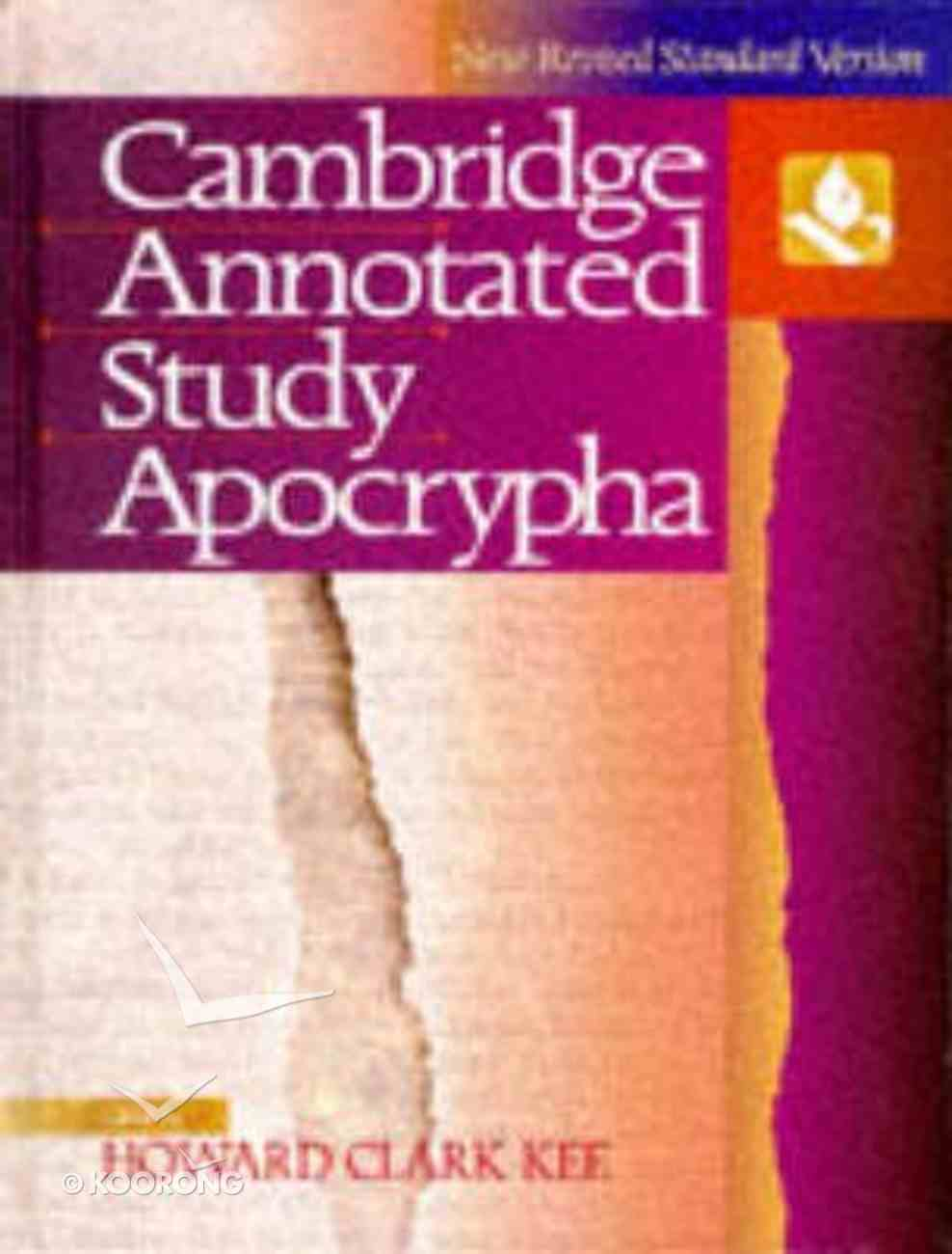 NRSV Cambridge Annotated Study Apocrypha Hardback