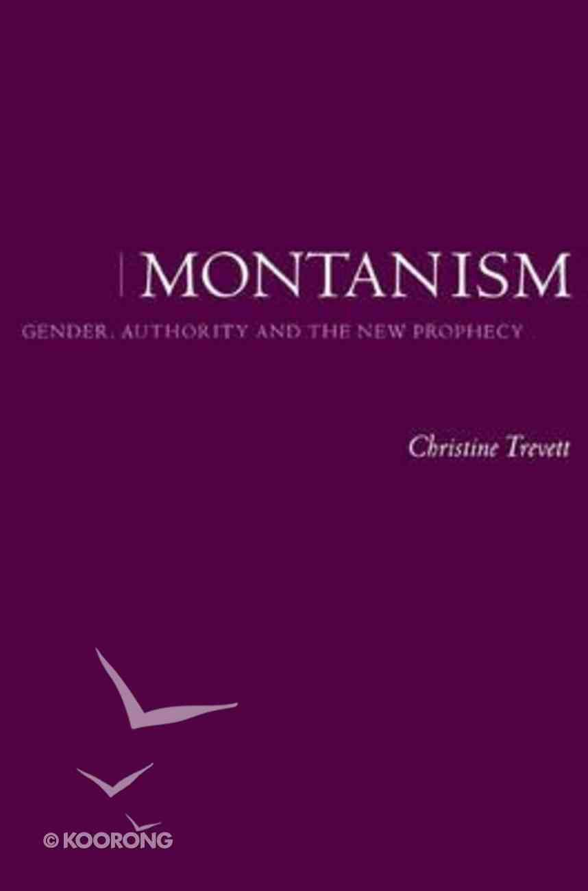Montanism Paperback