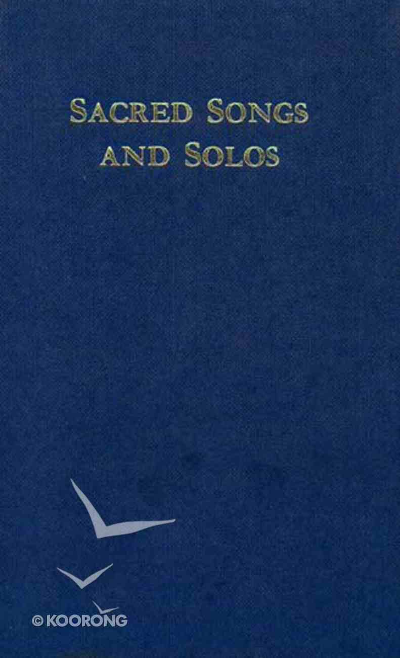 Sankey's Sacred Songs and Solos Words Z4 Paperback