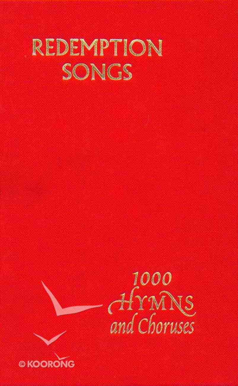 Redemption Songs Words (Large Print) Hardback