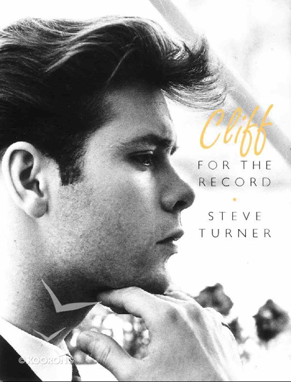 Cliff: For the Record Hardback