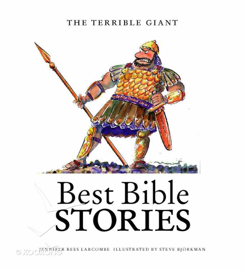 The Terrible Giant (Best Bible Stories Series) Paperback