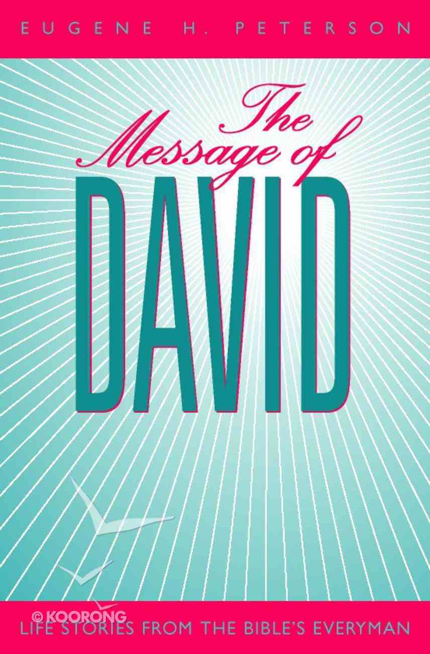 The Message of David Paperback