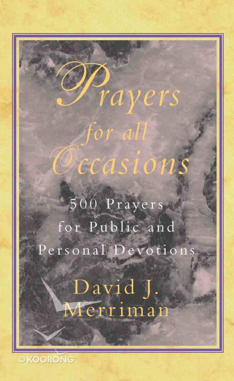 Prayers For All Occasions Paperback