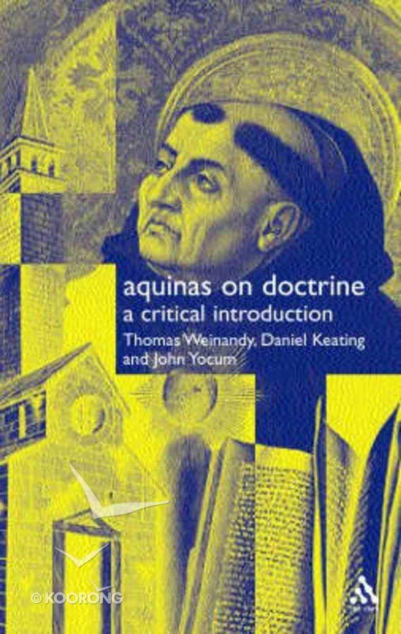 Aquinas on Doctrine Paperback