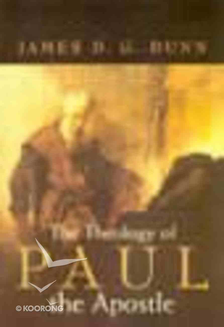 The Theology of Paul the Apostle Hardback