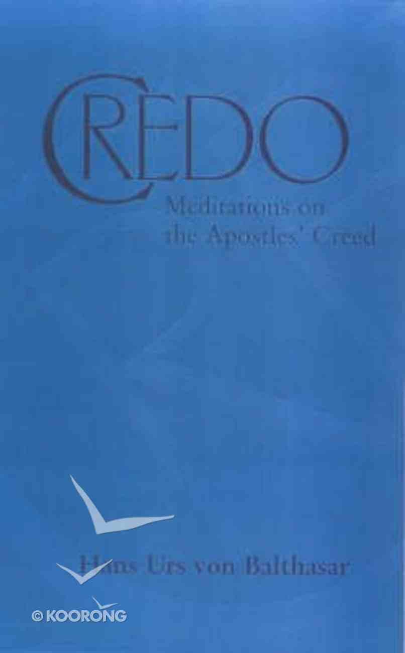 Credo Paperback