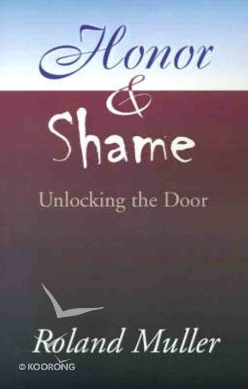 Honor and Shame Paperback