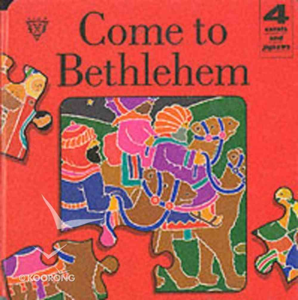 Christmas Jigsaw Board Book: Come to Bethlehem Board Book