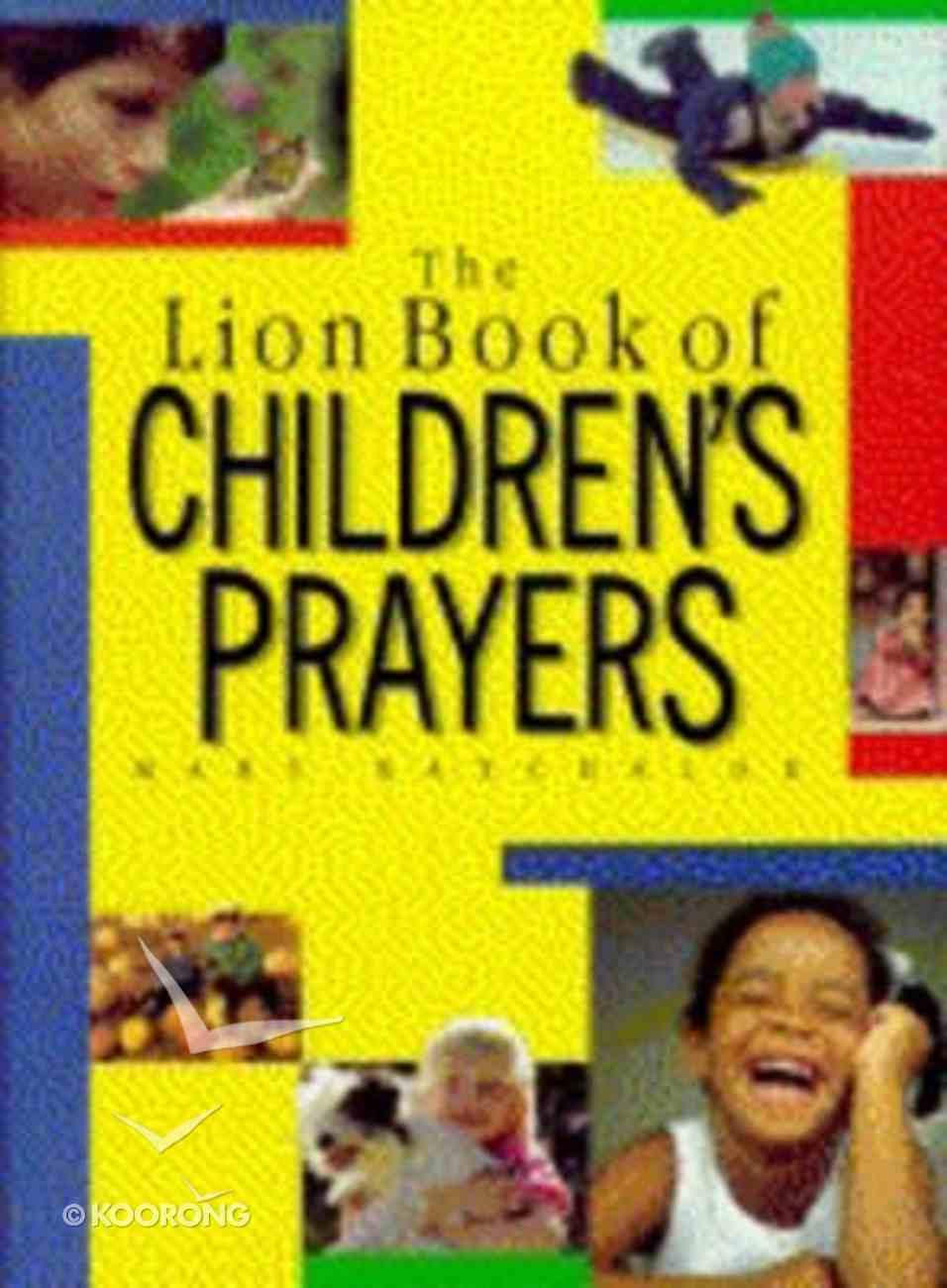 The Lion Book of Children's Prayers (New Edition) Hardback