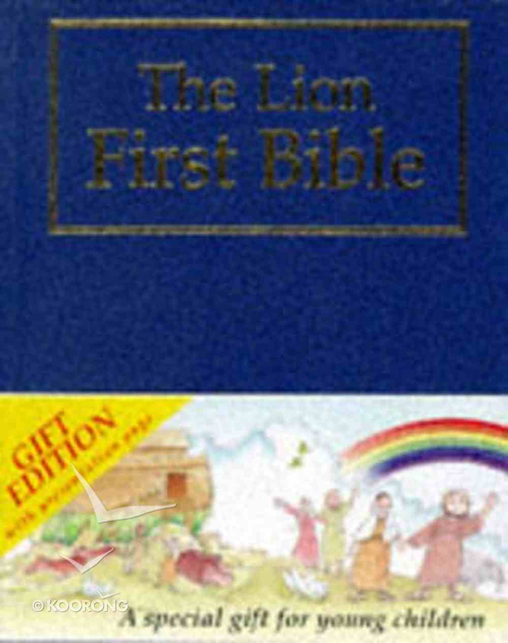 The Lion First Bible (Gift Edition Blue) Hardback