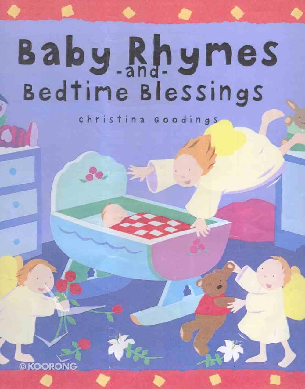 Baby Rhymes and Bedtime Blessings Hardback
