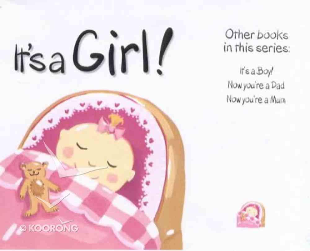 Mini: It's a Girl Hardback
