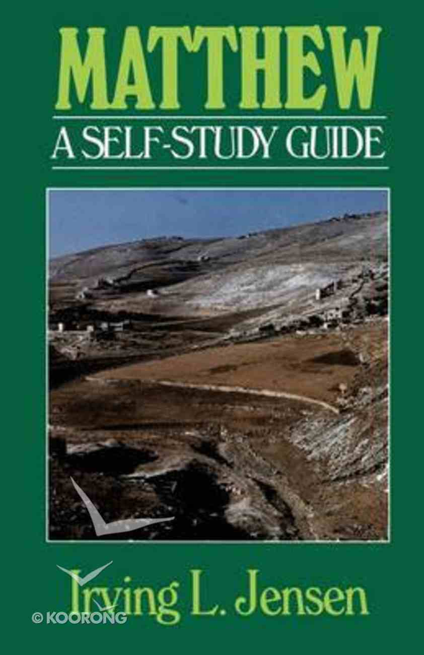 Self Study Guide Matthew (Self-study Guide Series) Paperback