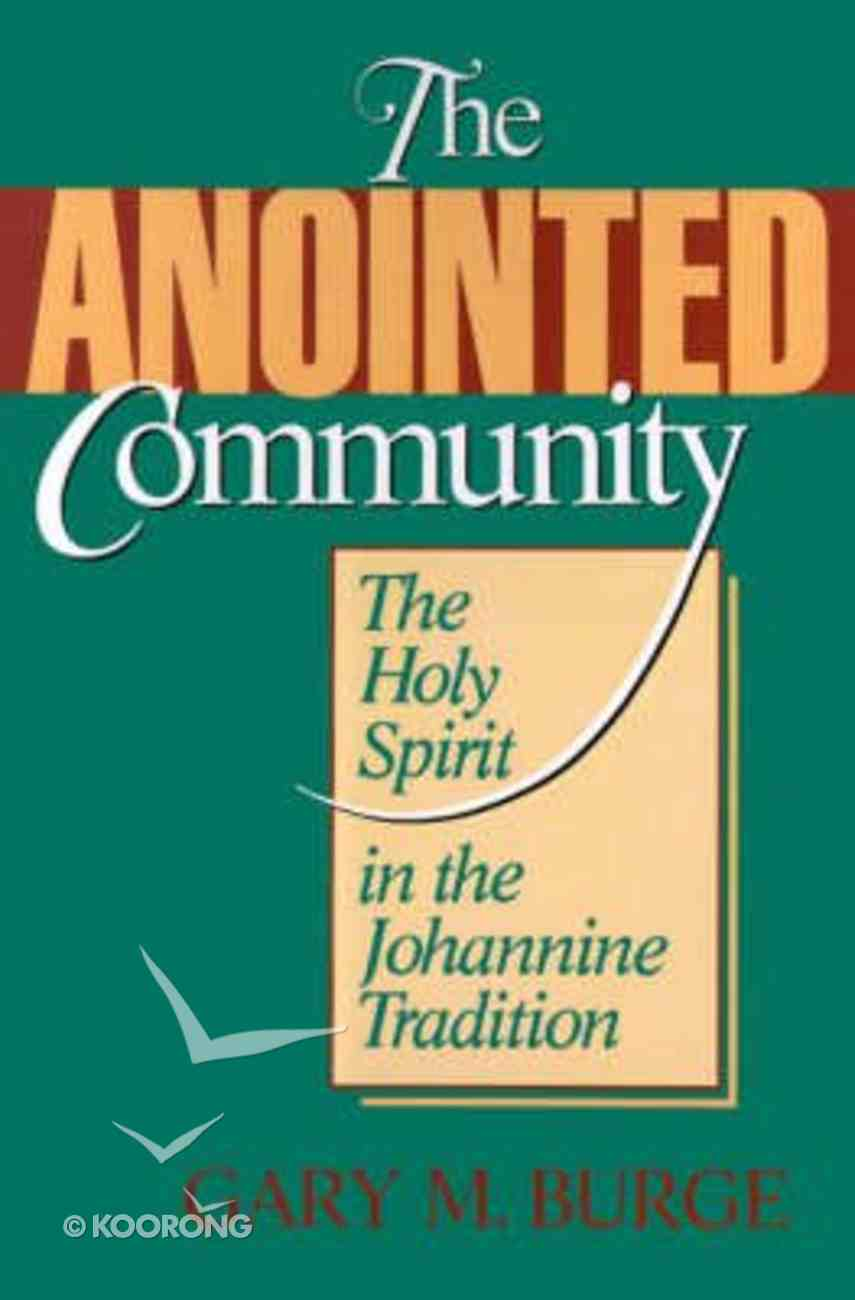 The Anointed Community Paperback
