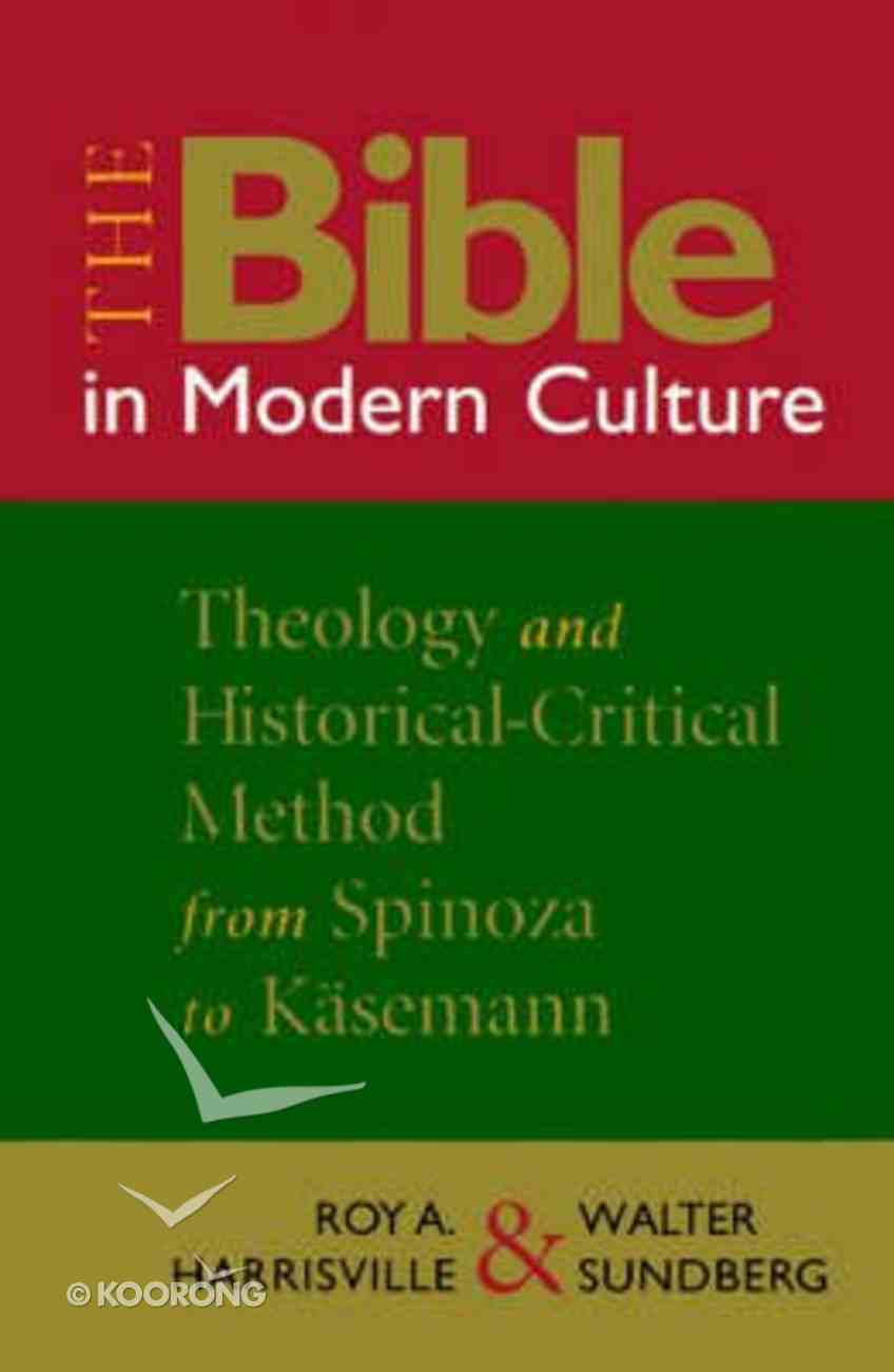 The Bible in Modern Culture Paperback
