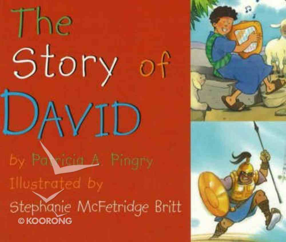 The Story of David Board Book