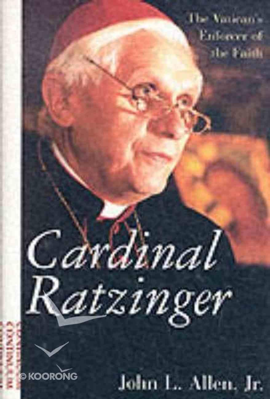 Cardinal Ratzinger Hardback