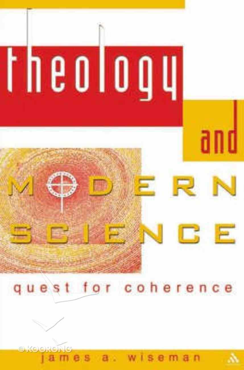 Theology and Modern Science Hardback