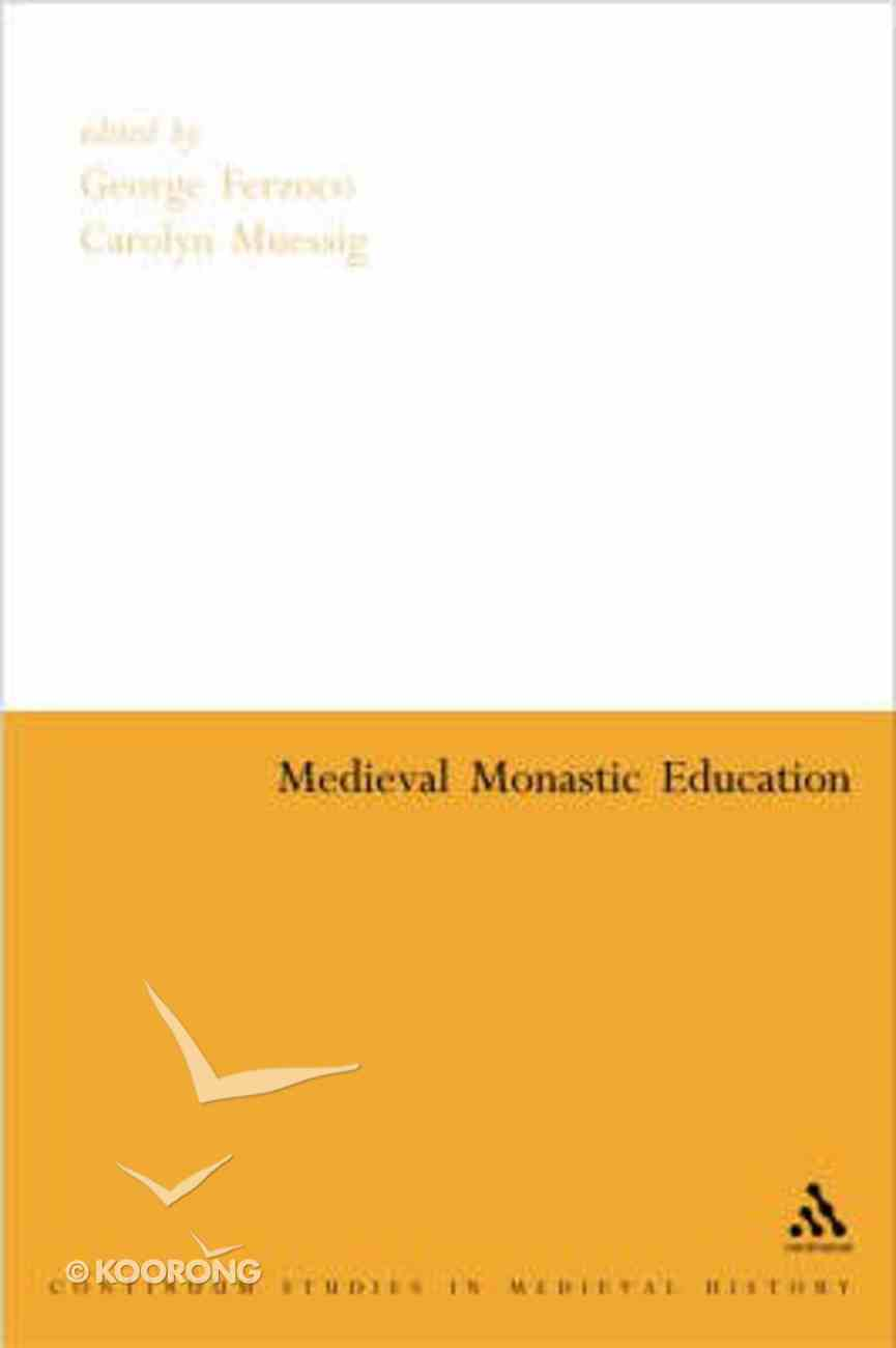 Medieval Monastic Education Paperback