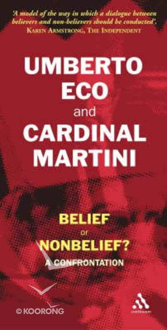 Belief Or Non-Belief Paperback
