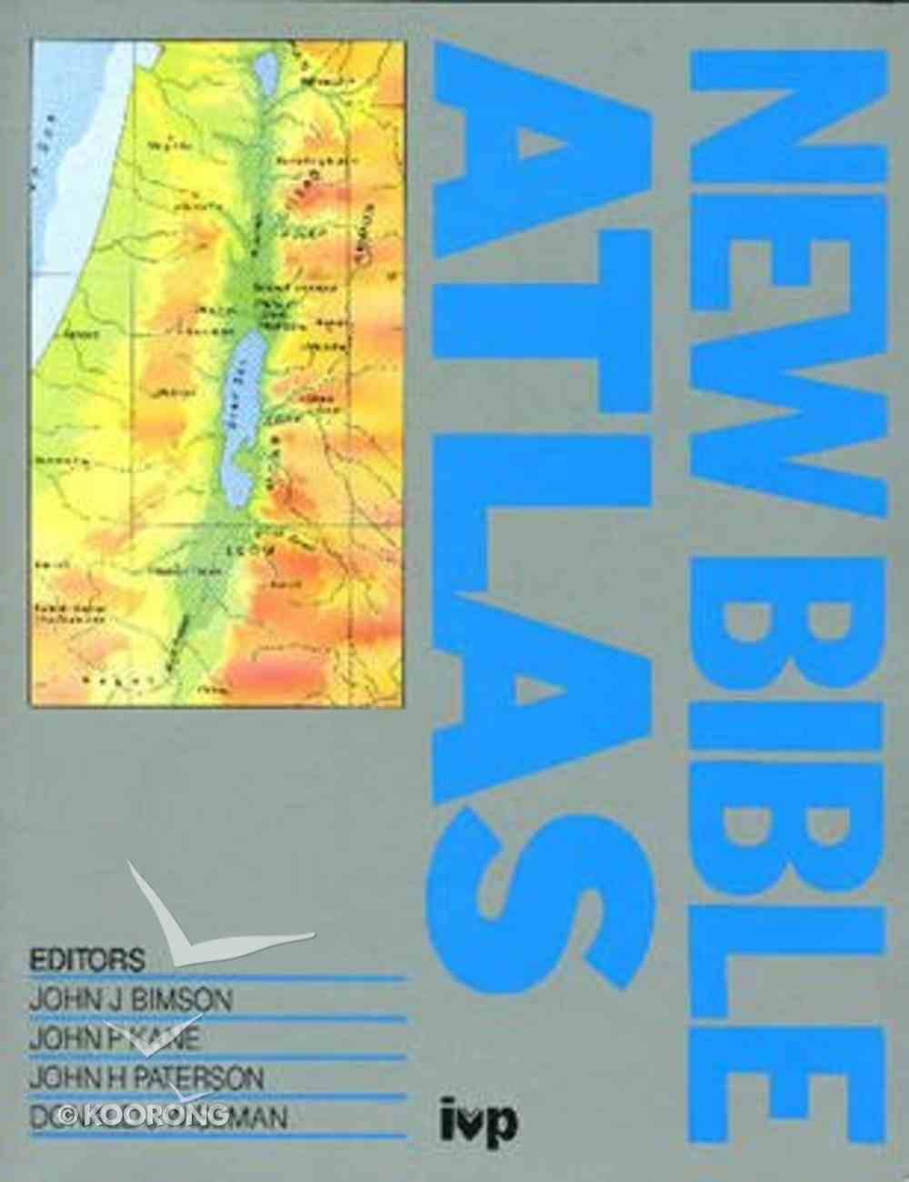 New Bible Atlas Paperback