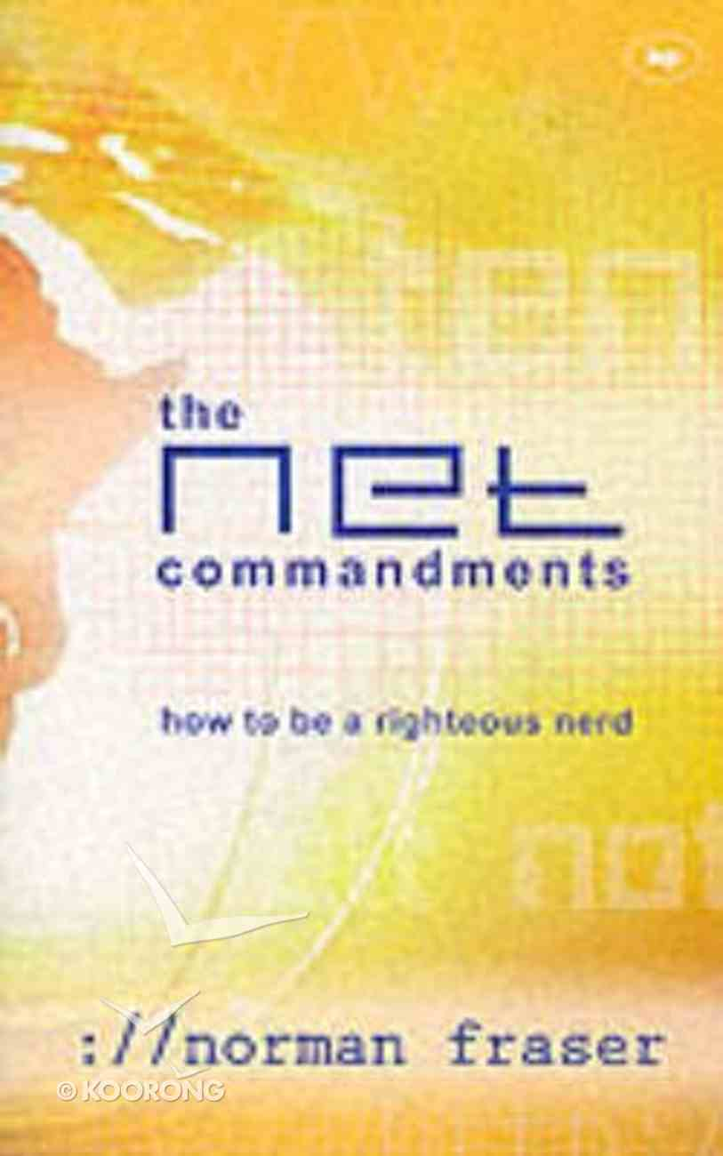 The NET Commandments Paperback