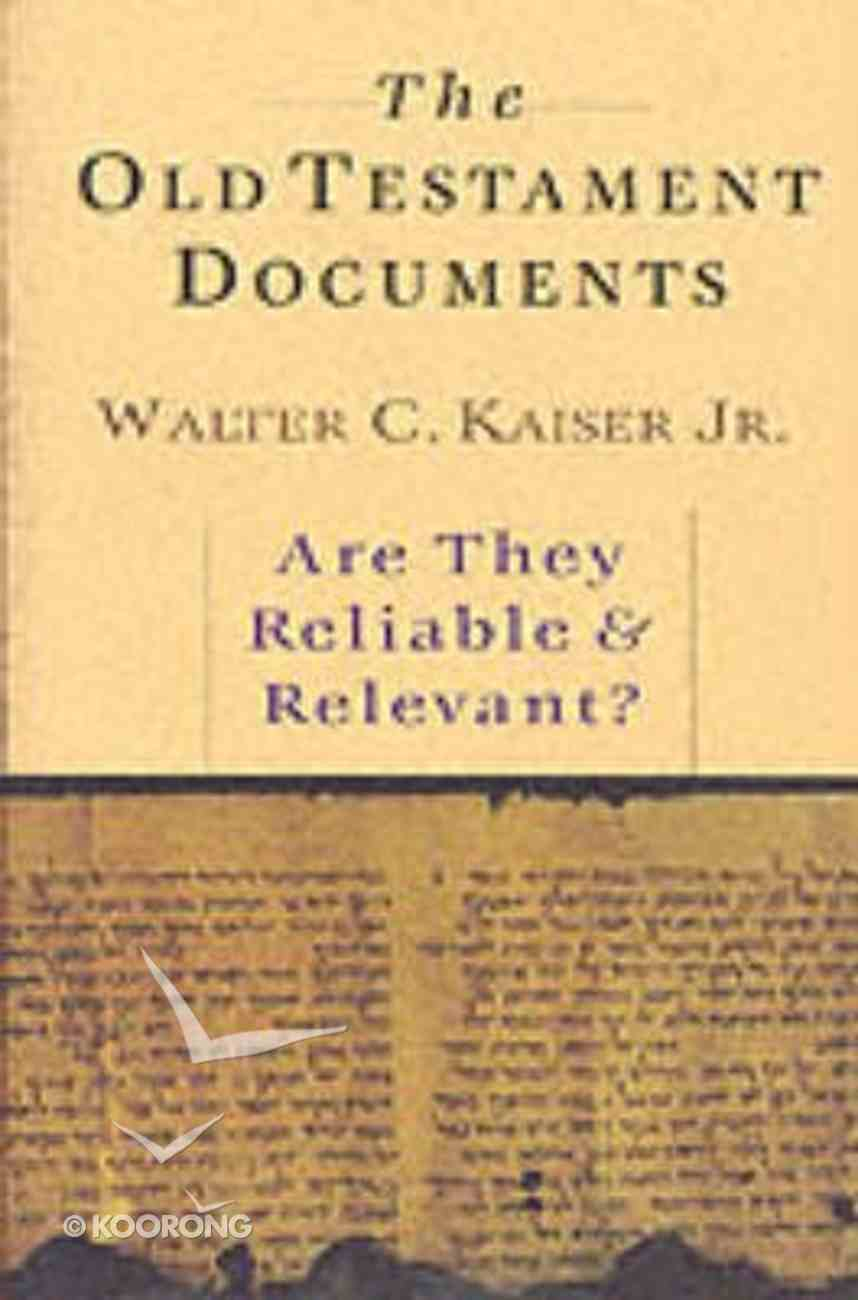The Old Testament Documents Paperback