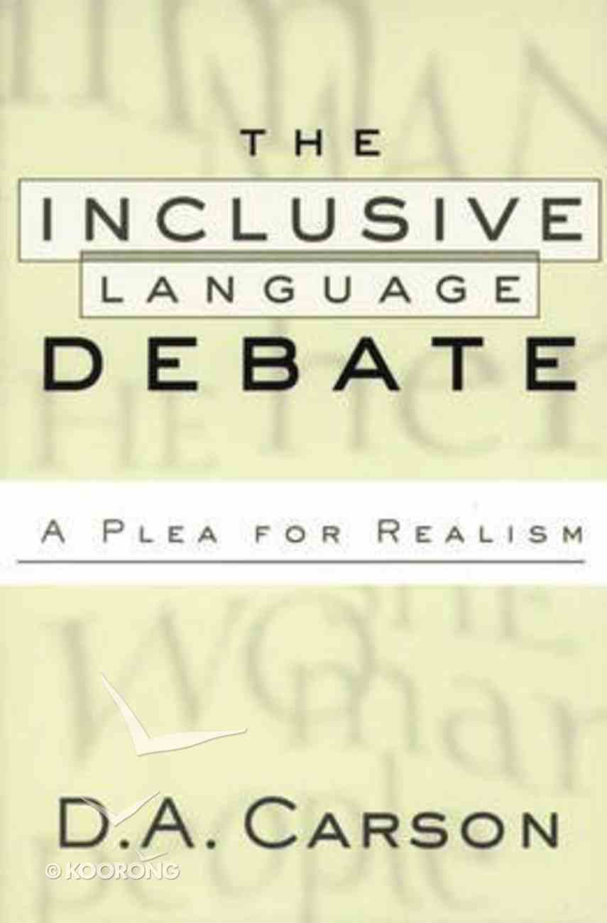 The Inclusive Language Debate Paperback