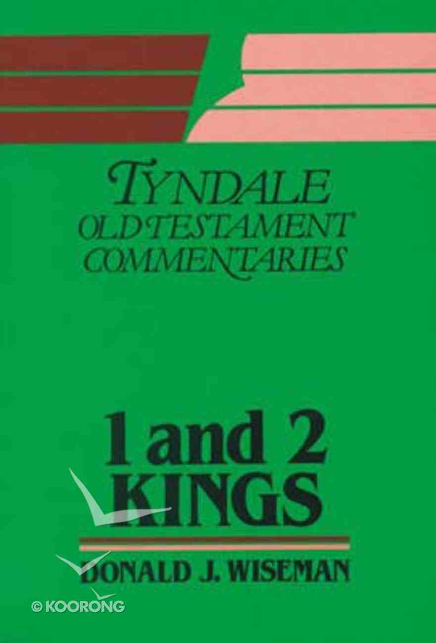 1&2 Kings (Tyndale Old Testament Commentary (2020 Edition) Series) Hardback