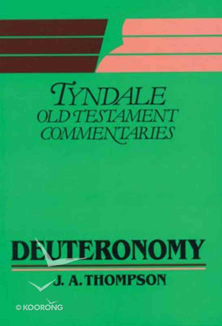 Deuteronomy (Tyndale Old Testament Commentary (2020 Edition) Series) Paperback