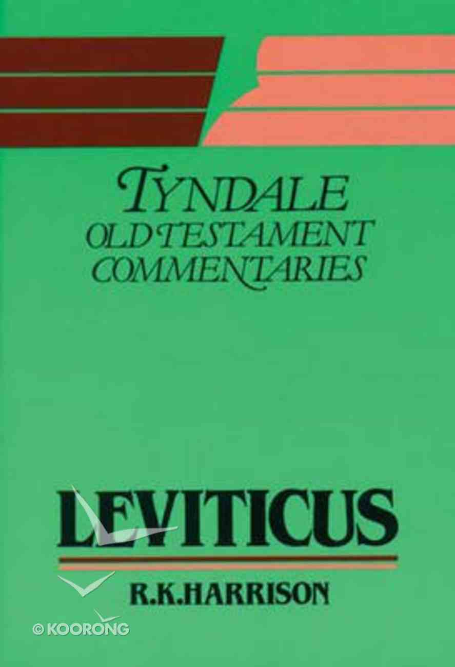 Leviticus (Tyndale Old Testament Commentary (2020 Edition) Series) Paperback
