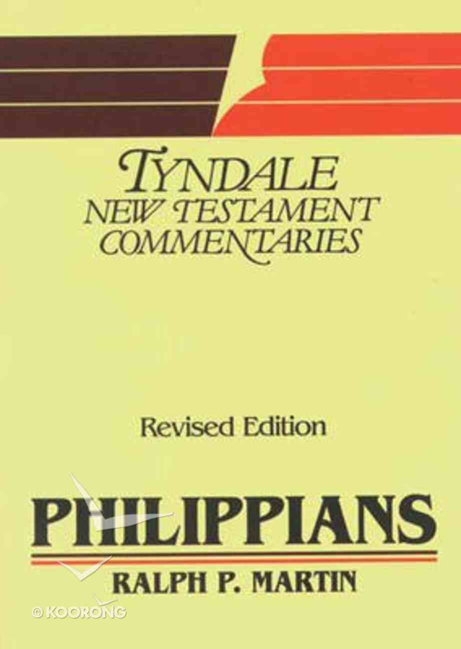 Philippians (Tyndale New Testament Commentary (2020 Edition) Series) Paperback
