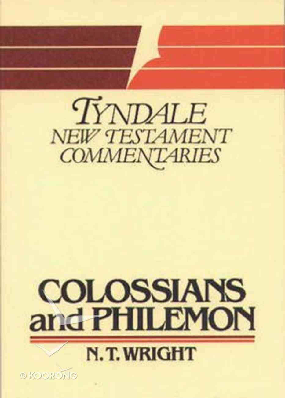 Colossians & Philemon (Tyndale New Testament Commentary (2020 Edition) Series) Paperback