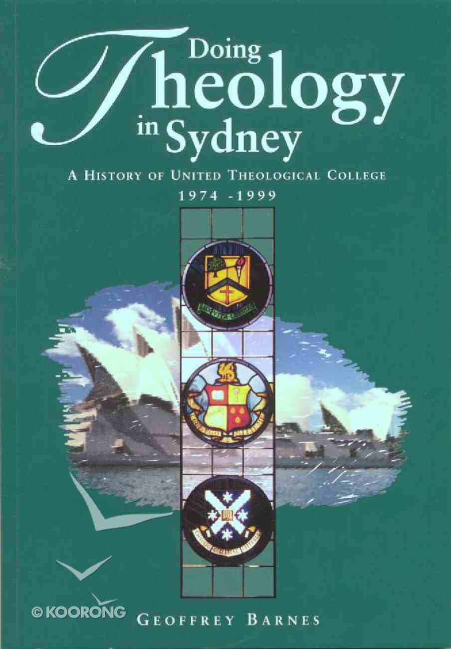 Doing Theology in Sydney Paperback