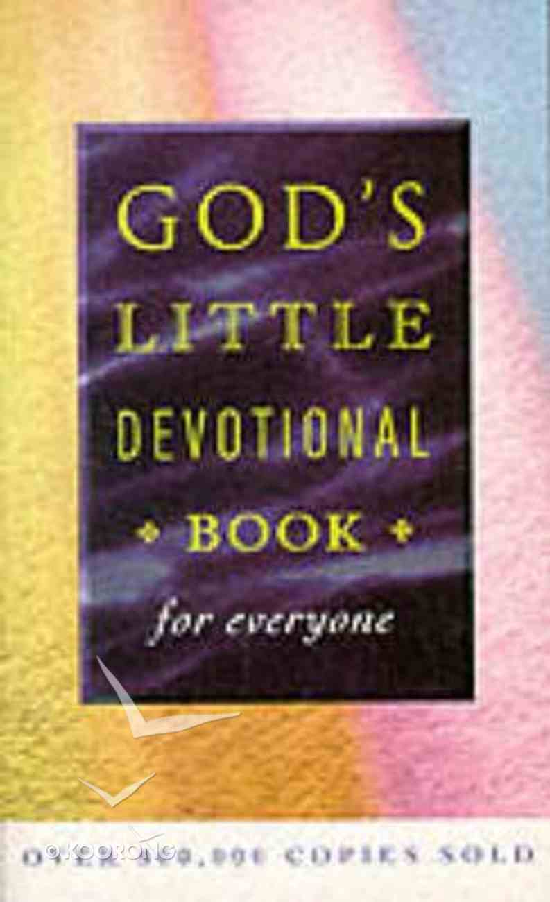 God's Little Devotional Book For Everyone Paperback