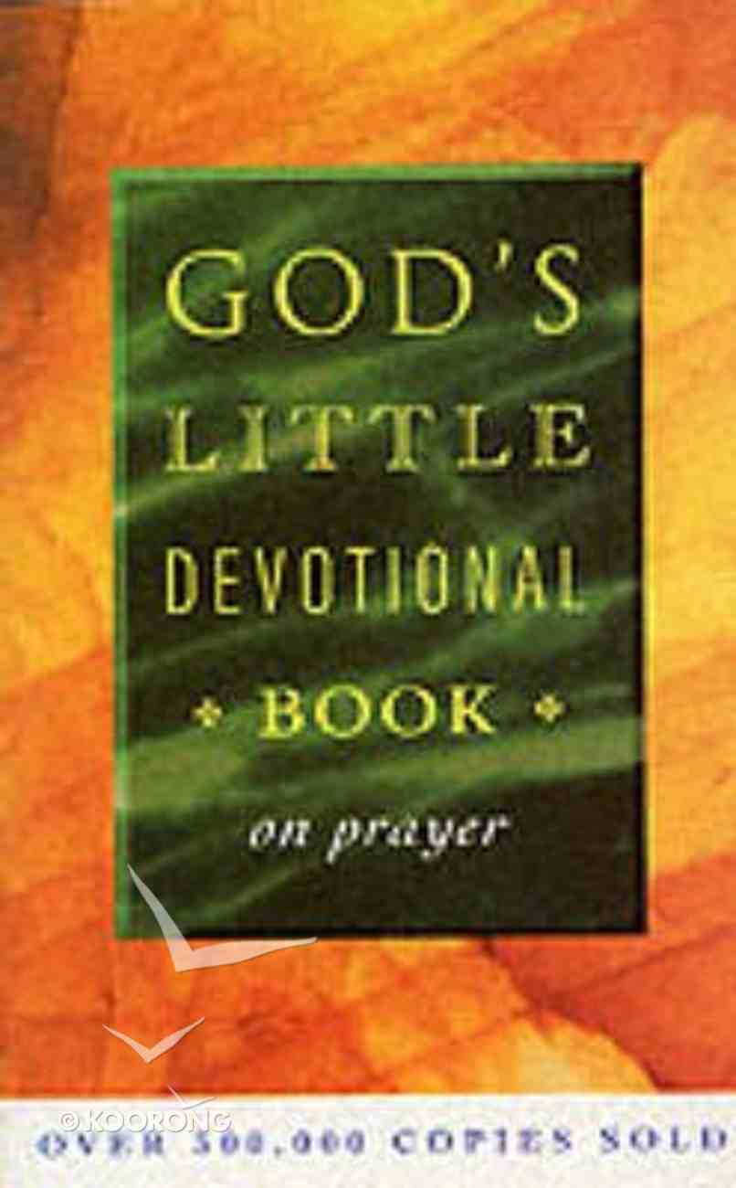 God's Little Devotional Book on Prayer Paperback