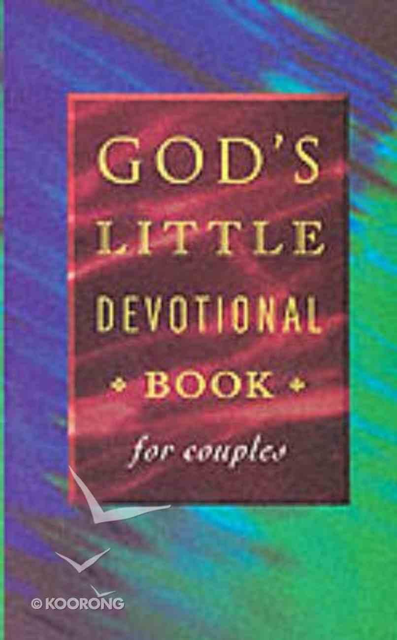 God's Little Devotional Book For Couples Paperback