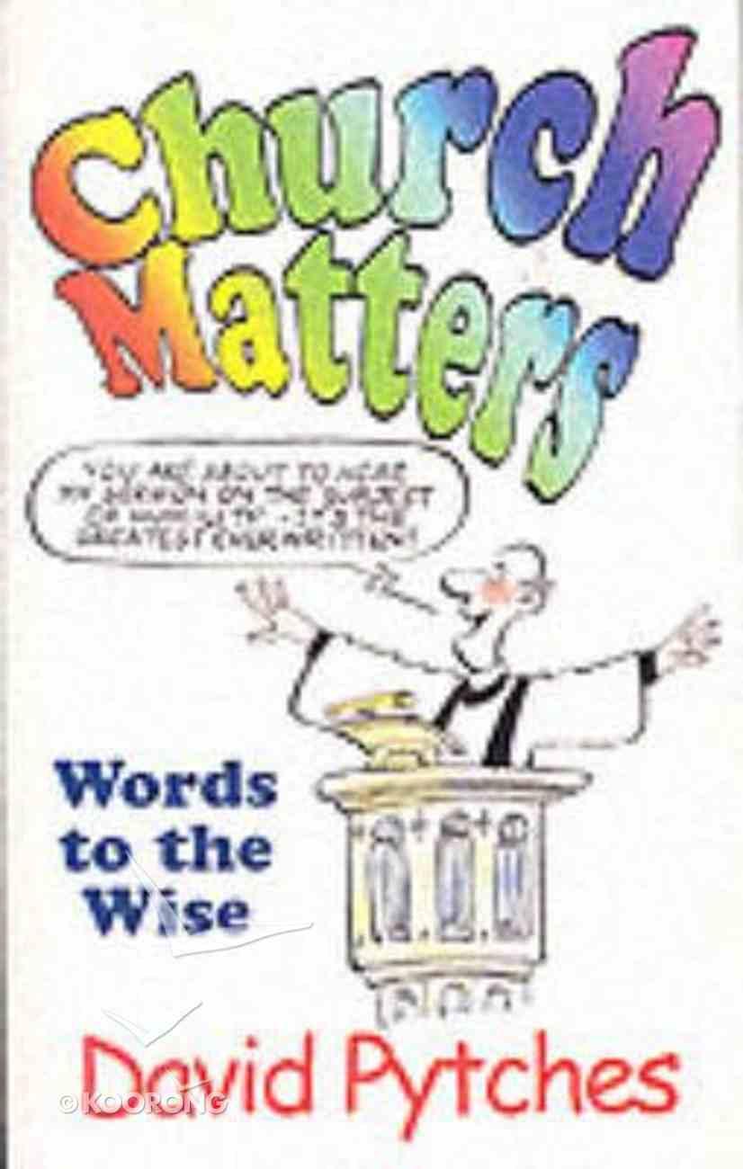 Church Matters Paperback