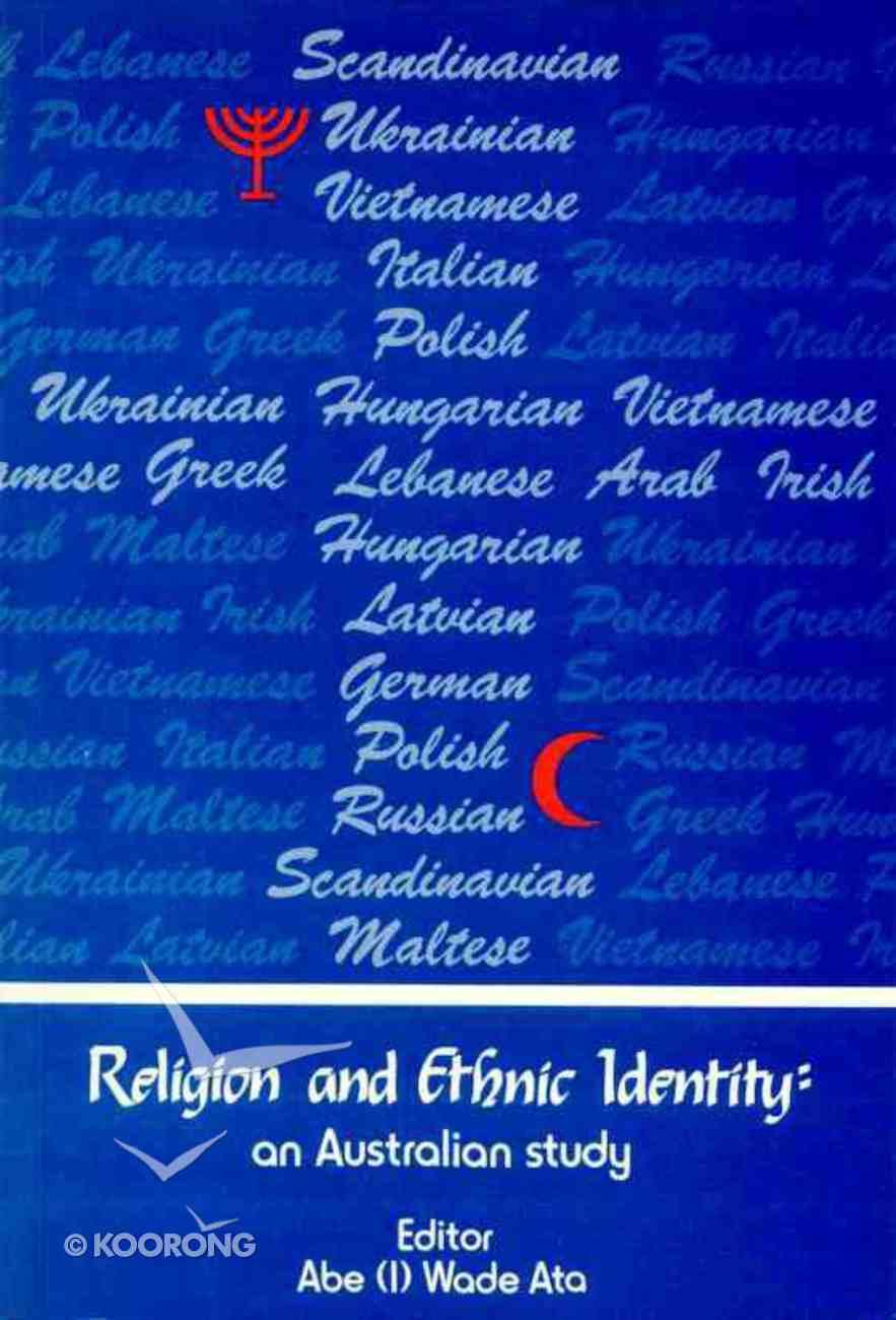 Religion and Ethnic Identity (Vol 1) Paperback