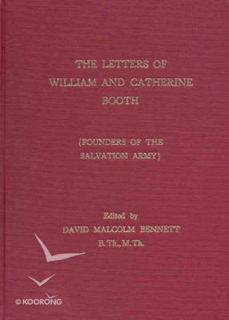 The Letters of William and Catherine Booth Hardback