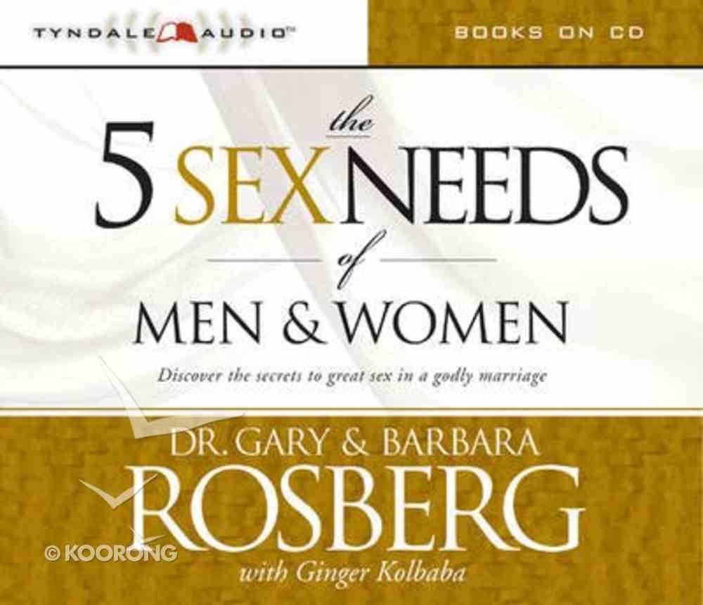 The 5 Sex Needs of Men and Women CD