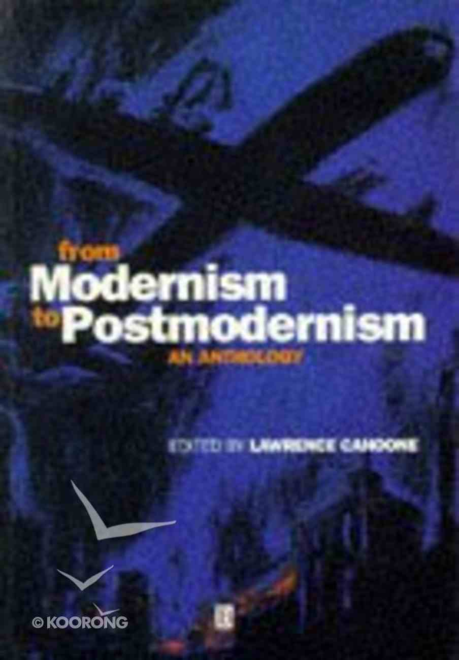 From Modernism to Postmodernism Paperback