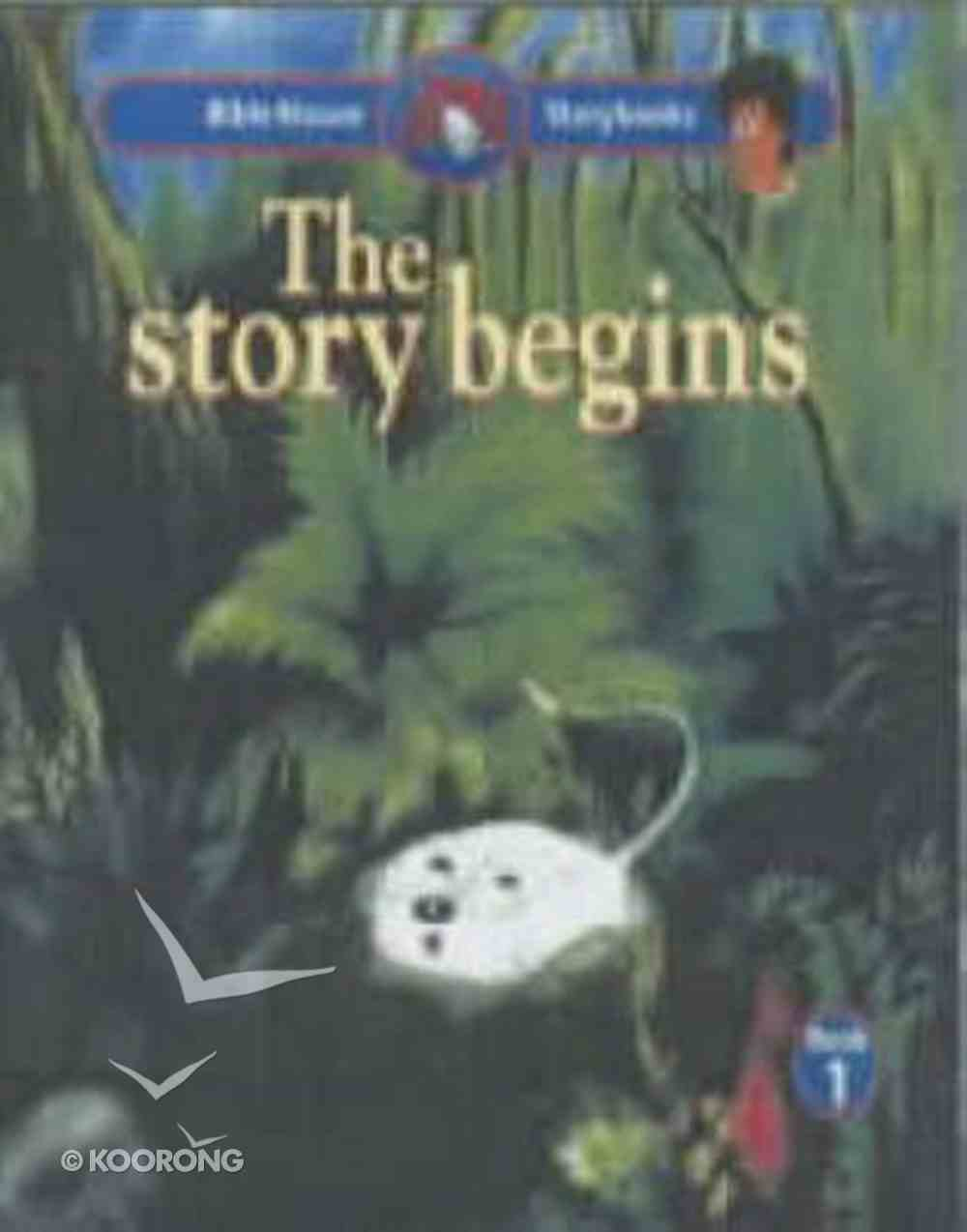 The Story Begins (#01 in Bible Mouse Series) Paperback